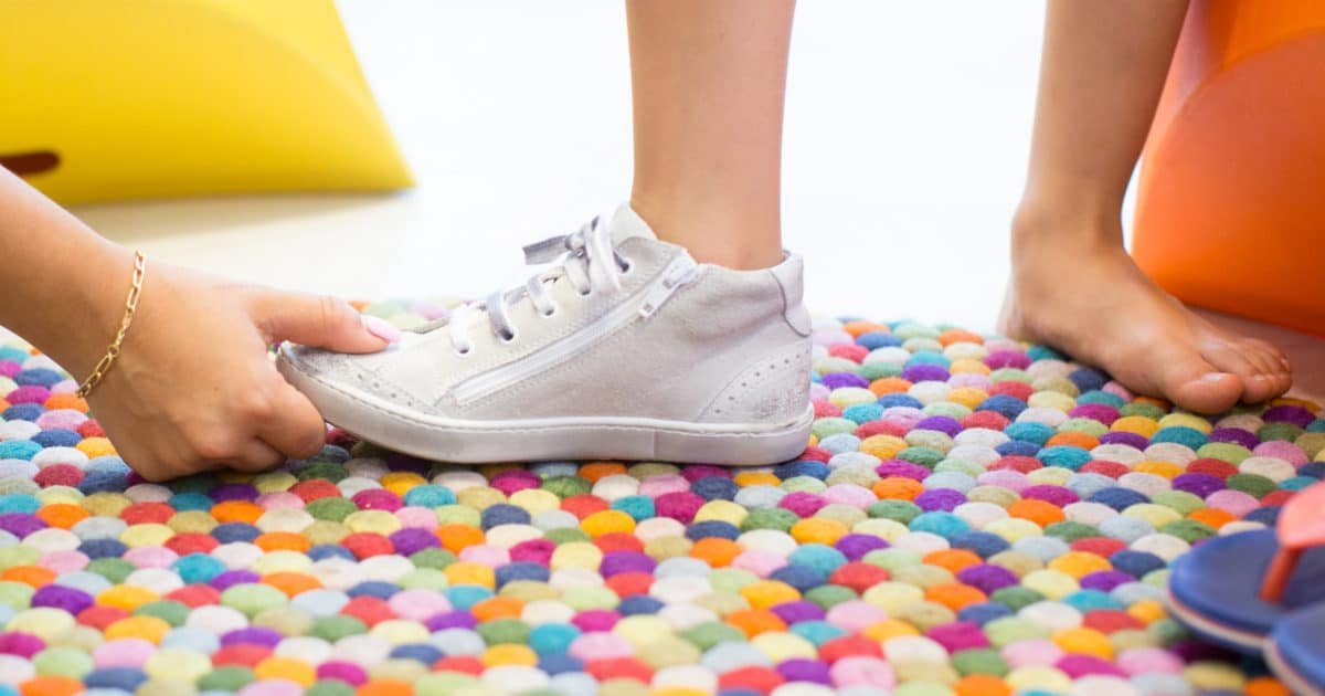 Quelles chaussures pour les petits?