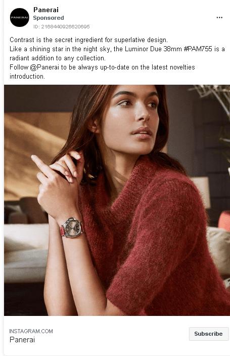 Comment faire la promotion d'une montre?